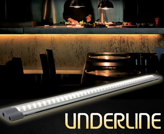 UnderLine - LED under-cabinet lighting
