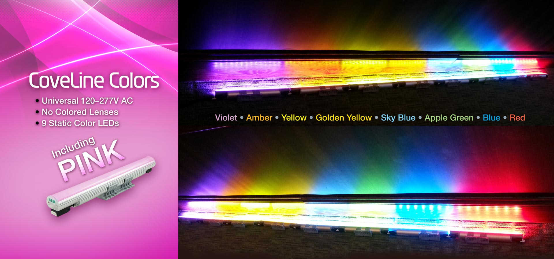 CoveLine Colored LEDs