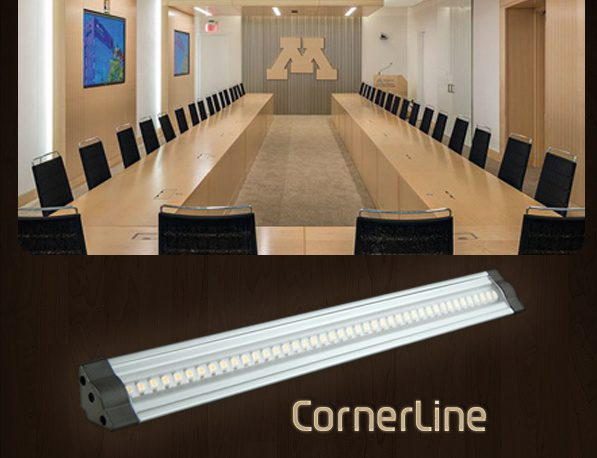 CornerLine LED by Solid State Luminaires