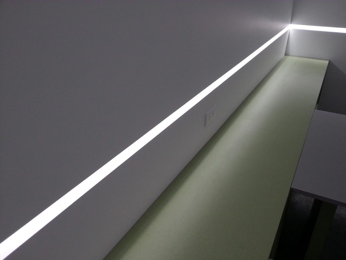 Microline Cove Led Full Surface Integrated Lighting