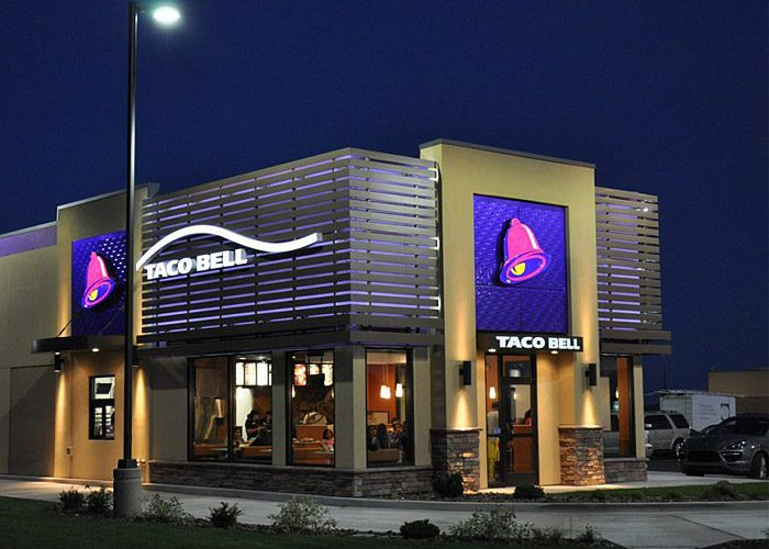 Taco Bell Franchise Solid State Luminaires